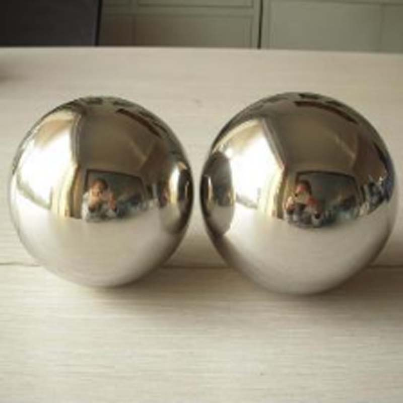 60mm diameter 304 stainless steel hollow ball decoration ball metal ball sphere decoration light of the solder
