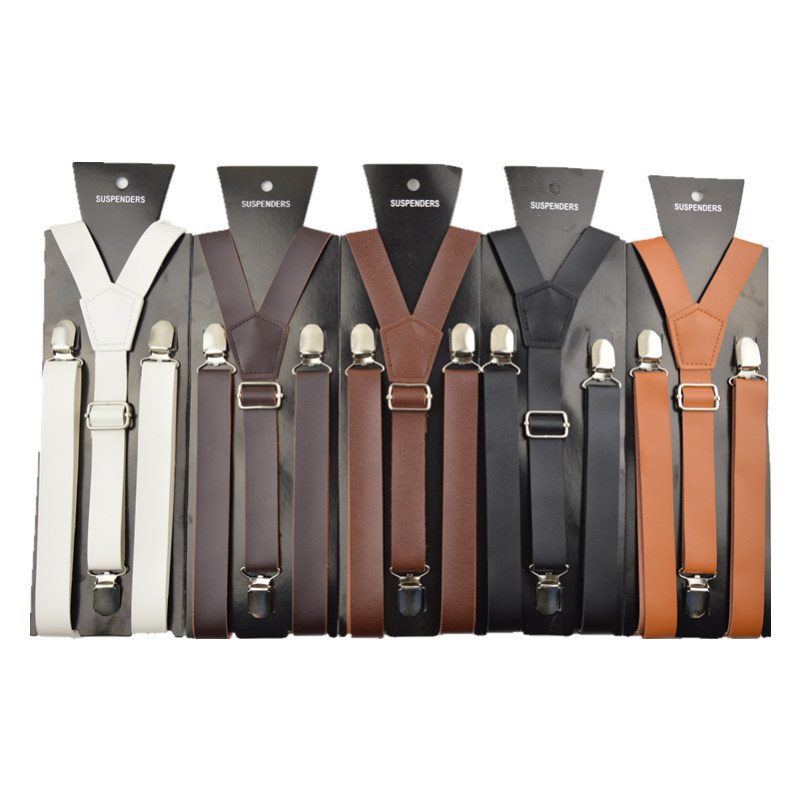 how to put on 3 clip suspenders