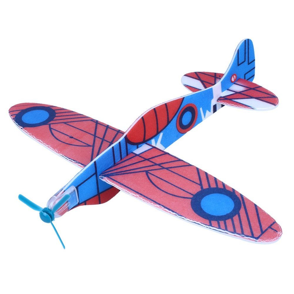 12pcs Flying Glider Planes Aeroplane Fillers Childrens Kids Toys Game Gift Model