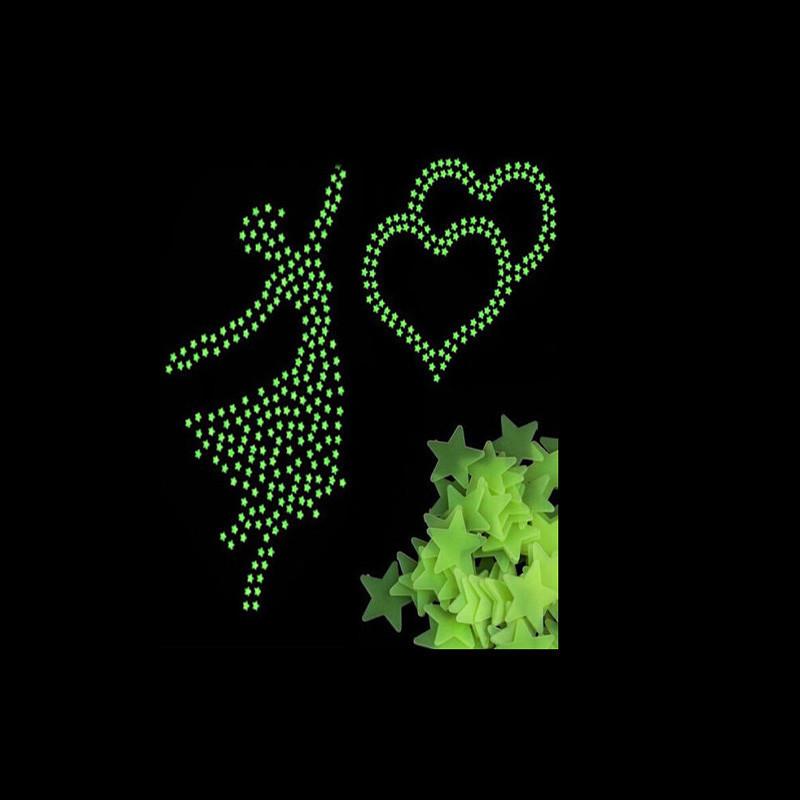 HTB1U091JVXXXXc2XXXXq6xXFXXX0 - 100Pcs Glow In The Dark Stars Moon Sticker Beautiful 3D DIY Home Decal Art Luminous Wall Stickers For Baby Kids Bedroom Decor