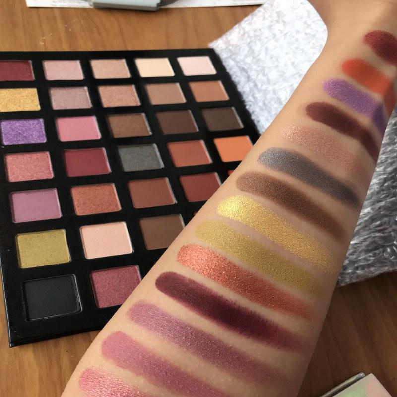 Eyeshadow Palette Glitter Metallic Powder Make up Pallete