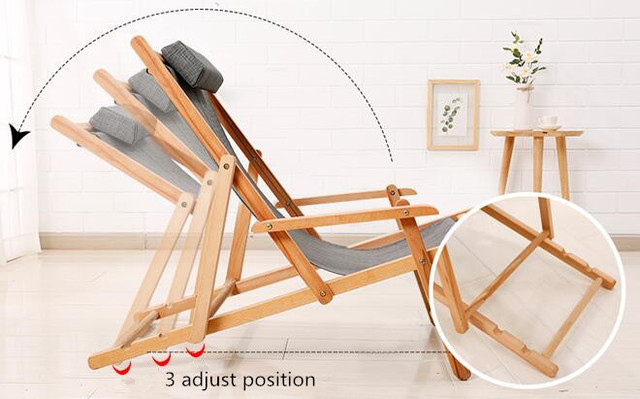 Adjustable Chaise Lounger 4