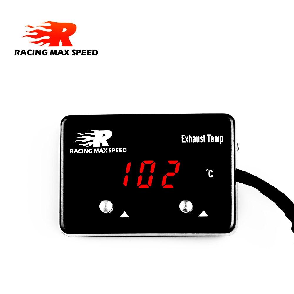 Температура выхлопа автомобиля датчик выхлопных газов цифровой с датчиком EXT измеритель температуры турбо для 4WD Hilux Patrol EGT etm-01