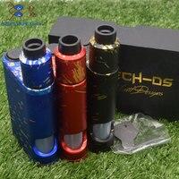 NEWEST 528 Custom goon Driptech DS 528 BF box kit 2*18650 batteries in parallel Aluminum 2*10ml Vaporizer Mod e cigarette KIT