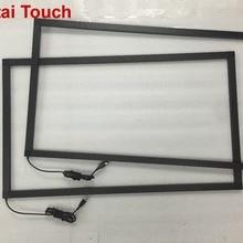 65 дюймов ик сенсорная рамка мульти 10 точек инфракрасный сенсорный экран панель наложения комплект