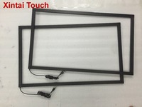 Free Shipping! 65 inch IR touch frame multi 10 points infrared touch screen panel overlay kit