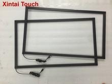Freies Verschiffen! 65 zoll IR touch rahmen multi 10 punkte infrarot touch screen panel overlay kit
