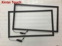 Frete grátis! 65 polegada ir touch frame multi 10 pontos painel de tela toque infravermelho sobreposição kit Painéis de tela de toque     -