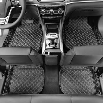 car floor mats for Mercedes Benz W203 S203 CL203 W204 S204 C204 W205 S205 C class C180 C200 C300 car styling liners image