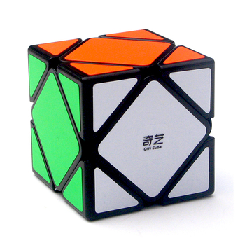 Qiyi QiCheng A Speed Magic Cube Skewed Bricks Block Brain Teaser New Year Gift Toys for Children - discount item  28% OFF Games And Puzzles