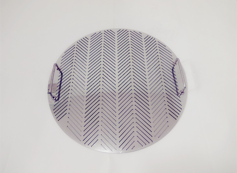 Free Shipping  False Bottom Diameter 345mm With Double Handle Or Single Handle,2 Mm Thickness,Gap Size 0.7 Mm Stainless Steel304