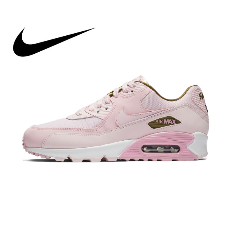 Original authentic Nike AIR MAX 90 SE womens running shoes fashion outdoor height increase comfortable sports shoes 881105Original authentic Nike AIR MAX 90 SE womens running shoes fashion outdoor height increase comfortable sports shoes 881105