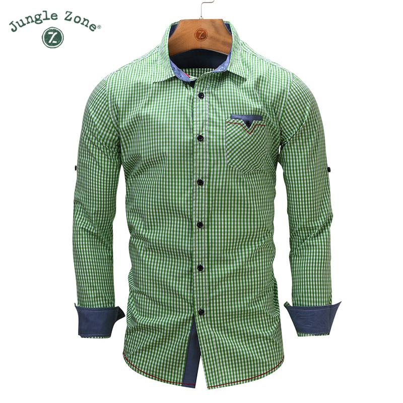 Buy jungle zone european size new arrival for European mens dress shirts