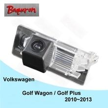 Для Volkswagen Golf универсал/Golf Plus 2010 ~ 2013 HD CCD Ночное видение паркуя обратный Камера заднего вида камера NTSC PAL