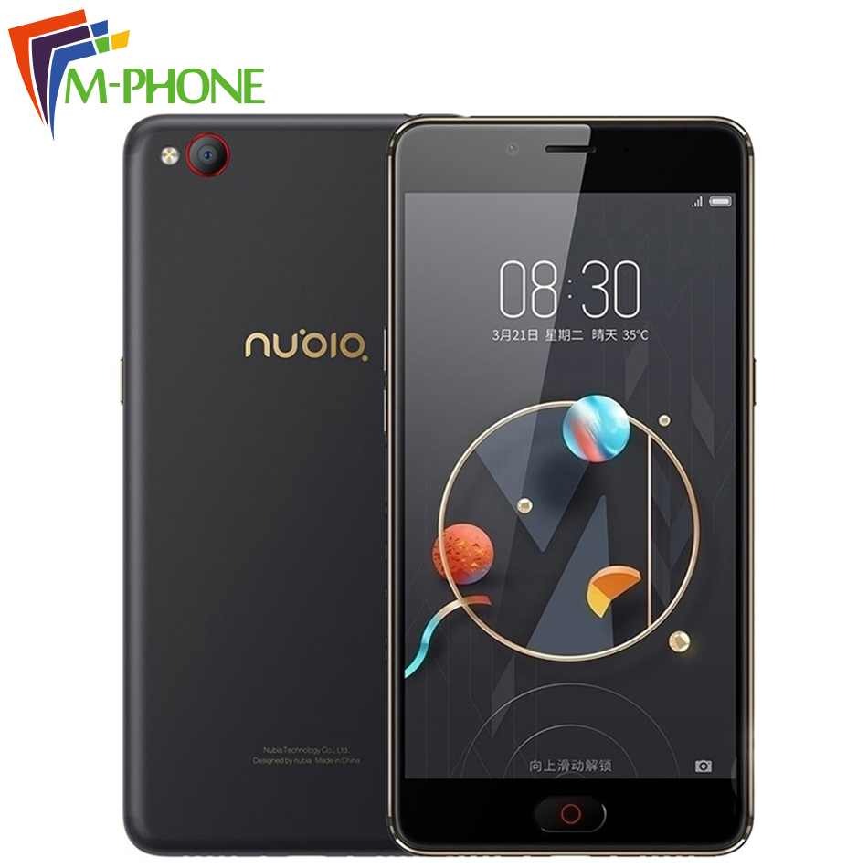Original Nubia N2 Mobile Phone 4GB RAM 64GB ROM 5000mAh 5 5 inch Octa Core Front
