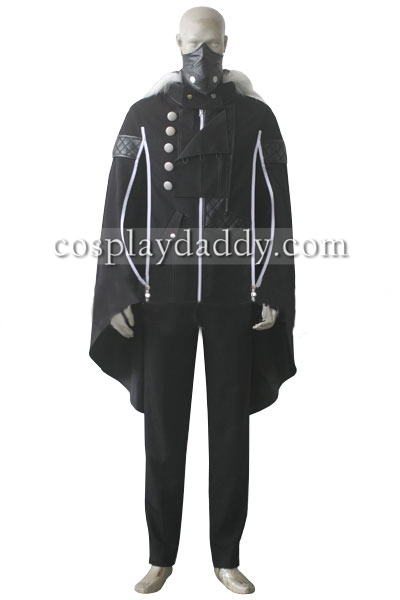 Tokyo Ghoul Ayato Kirishima Black Set Cosplay Costume Halloween Outfit L005