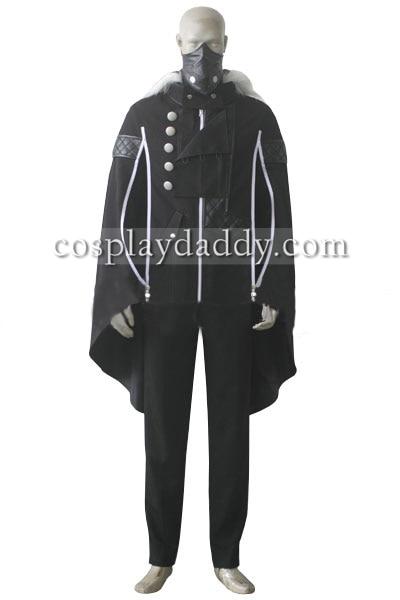 Tokyo Ghoul Ayato Kirishima fekete készlet Cosplay jelmez Halloween - Jelmezek