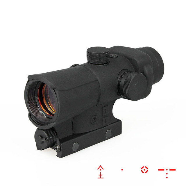 PPT Tactical Red Dot Sight Red Dot Scope Four Reticle Airsoft Hunting Sight Picatinny Rail PP2-0107