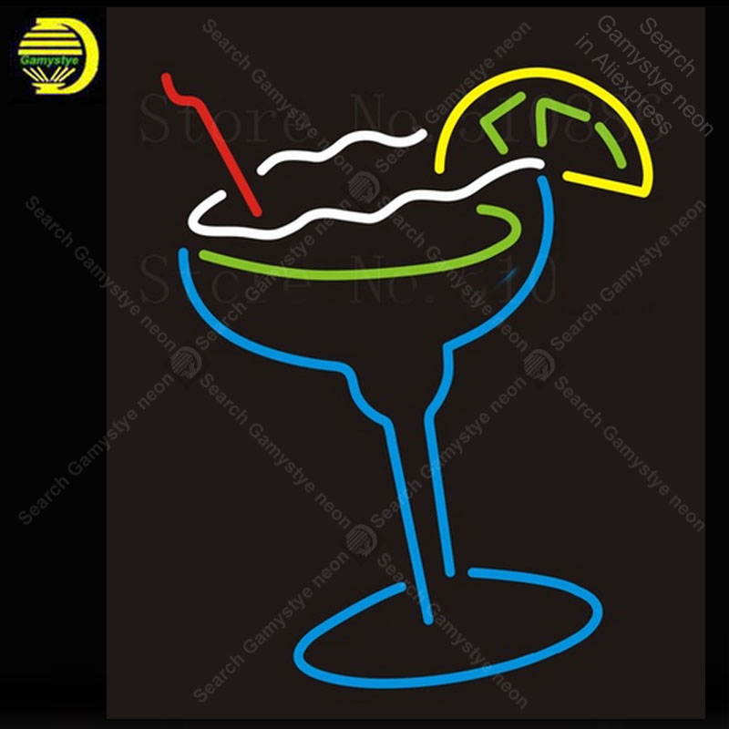 Custom Signage NEON SIGNS Drinks Iced Lemon BAR PUB Signboard Display Decorate Store Shop Light Sign 17*14 Advertise Shop store