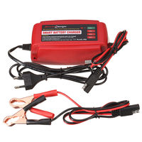 12V 5A Car Battery Charger Maintainer Desulfator Smart Battery Charger For AGM GEL WET Batteries Lead