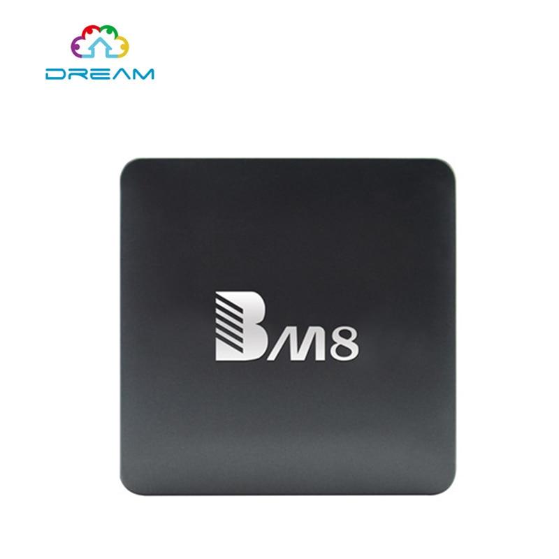 ФОТО BM8 Android 6.0 OTT TV Box 4Core CPU 2GB RAM 32GB ROM 4K ULTBKHD 64bit H.265 HEVC Internet TV Support 3D-HD1080P With 5pcs