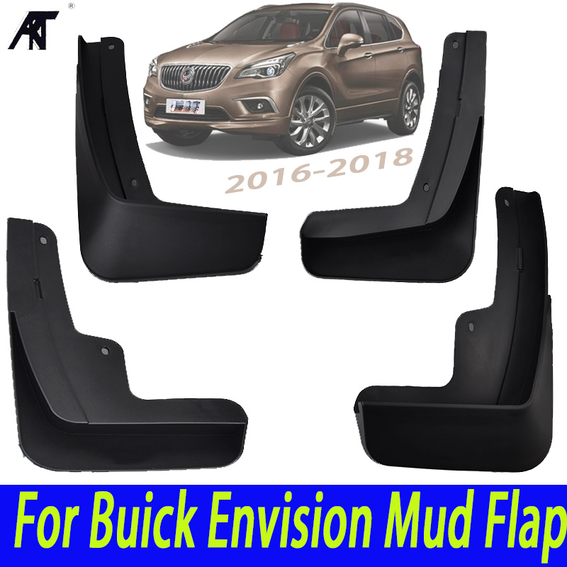 Set Molded Car Mud Flaps For Buick Envision 2016 2017 2018