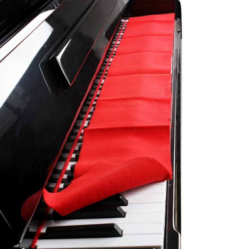 Soft Nylon+Cotton Piano Keyboard Dust Cover Cloth For Any 88 Key Piano Or Keyboard ST