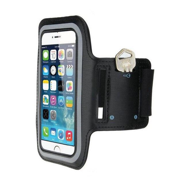 4.7 インチ Balck Apple の Iphone 7 8 6 s 6 防水ケースカバージムランニングアームバンド携帯電話ポーチバッグケース