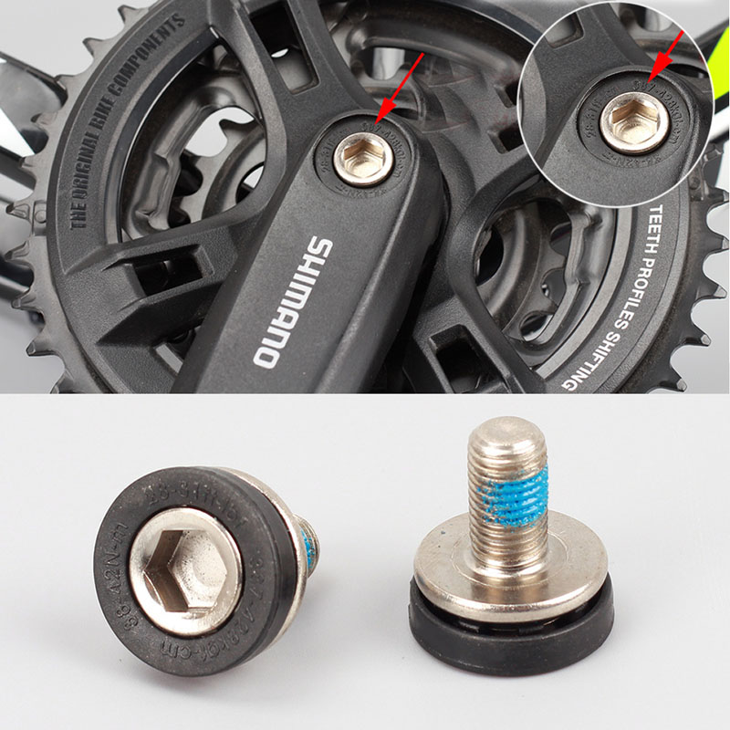Bicycle Bottom Brackets Crank Bolts M8 Allen Key Bike bottom bracket bb bicycle axle Screw ...