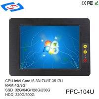 Лидер продаж 10,4 дюймов Intel Core I5 3317U Мини ПК с фабрики магазин Professional Производитель Применение коммерческих планшеты PC