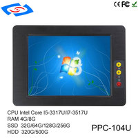 Hot Sale 10.4 inch Intel Core I5 3317U Mini PC With Factory Store Professional Manufacturer Application Commercial Tablet PC