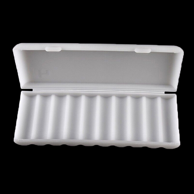 1PCS 10X18650 Battery Holder Case 18650 Storage Box Holder White Hard Case Cover Battery Holder Organizer Container