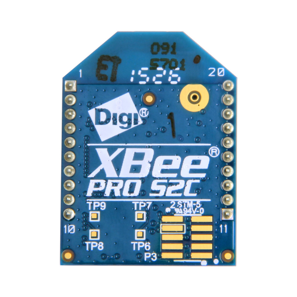 Geeetech XBee Pro S2C 63mW Wire Antenna (ZigBee Mesh) digi xbee 2mw wire antenna s2 zigbee zb wireless mesh module series 2 3 3v 2 4ghz 250kbps 120m for arduino data transmission