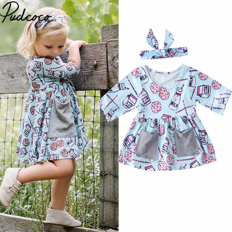 Aliexpress Com Buy New Autumn Baby Girl Dress Cotton