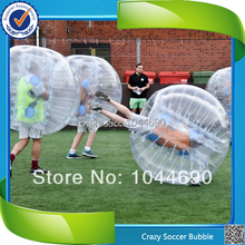 New, 1.00mm TPU Top quality inflatable bumper ball for football, adult bumper ball