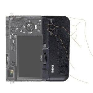 Image 3 - Meike MK A6300 אנכי רב סוללות היד עבור Sony A6400 A6000 A6100 A6300 מצלמה