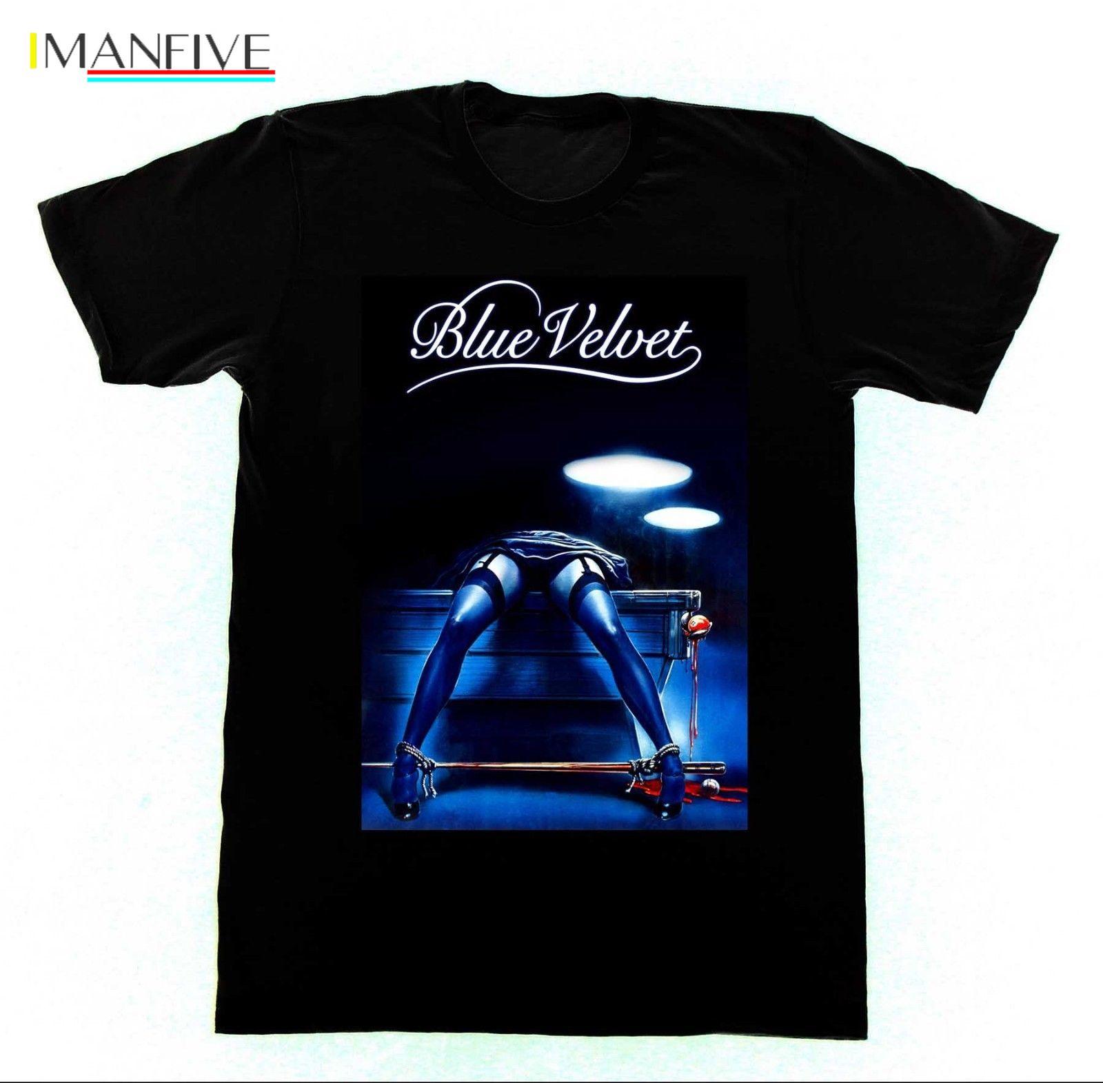 Blue Velvet David Lynch Tshirt 41 T Shirt Cult Film BDSM Bondage Erotica Pre Cotton Tee Shirt For Men in T Shirts from Men 39 s Clothing