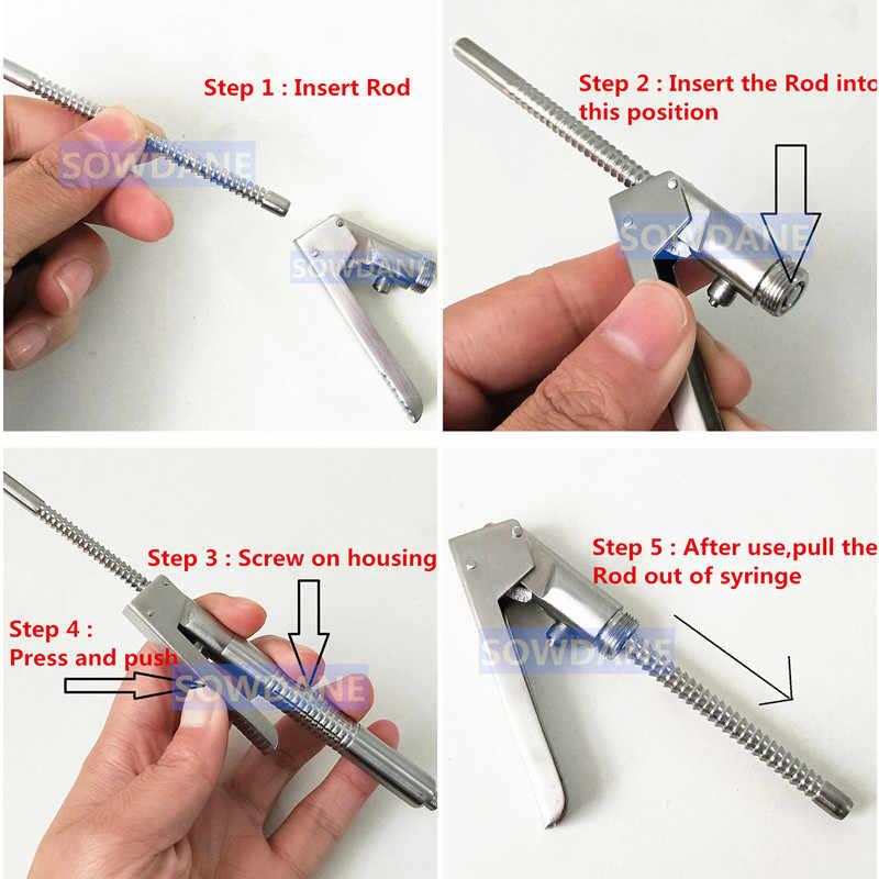 Nha Khoa Thép Không Gỉ Intraligamental Ống Tiêm Bút Phong Cách Aspirating 1.8 Ml Nha Khoa Dụng Cụ Phẫu Thuật Nha Khoa Kiêm Bật Lửa Dụng Cụ