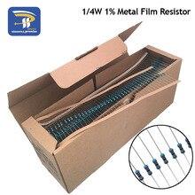 100 шт. DIY, иных металлических пленочный резистор 1/4W серии 10R-1M 1% сопротивления 10K 22K 47K 100K 10 220 1K5 100R 220R 1K 1,5 K 2,2 K 4,7 K 4K7 Ом