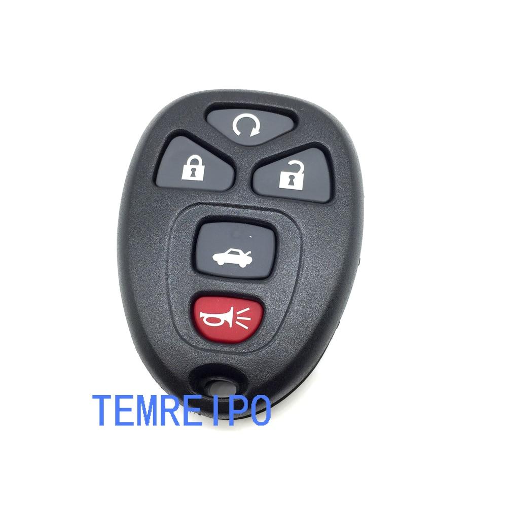 20pcs/lot Remote Key Case Fob Shell &PAD For 2007 2012 GM