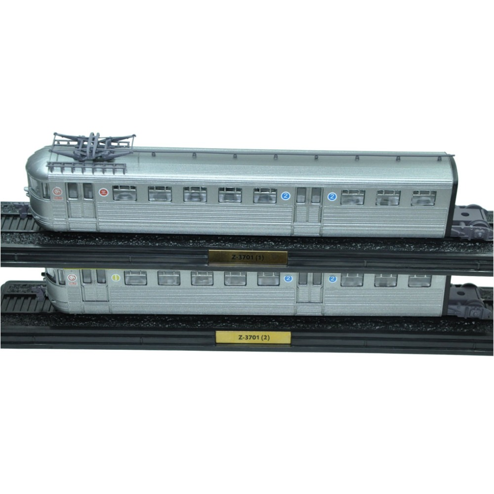 Gift Christmas 2 pcs Atlas Scale 1:87 Collectible Train Tram Model SET Z-3701 (1)  And Z-3701Z (2)  Plastic цена 2016