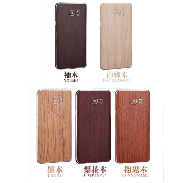 pretty nice 957ab 700fe US $1.99 |Hot! Luxury Wood Grain Full Body Cover Skin Sticker Protection  Case For Samsung Galaxy S7/ S7 edge on Aliexpress.com | Alibaba Group