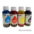 4pcs/lot one set 4 X100ML Universal Color Dye 100ml Ink refill bulk ink for HP For Canon For Lexmark For Dell All Inkjet Printer