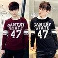 2016 Autumn And Winter Men Sweater Knit shirt Slim Korean Head Fashion Popular M-XXL Size Free Shipping