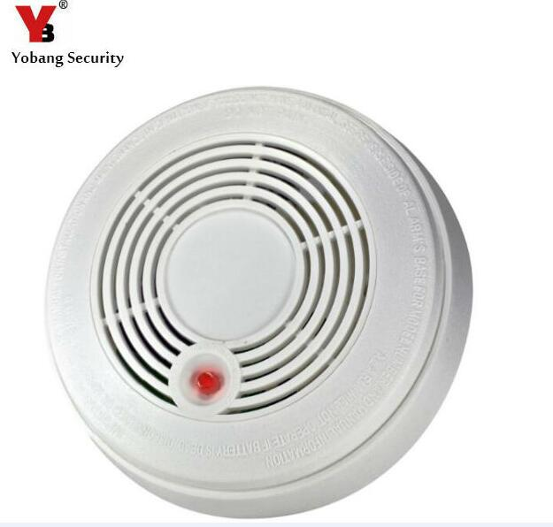 цены  Yobang Security Battery Powered Combination Smoke Alarm CO Carbon Monoxide Poisoning Sensor Photoelectric CO & Smoke Detector