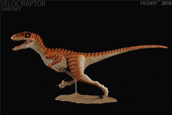 2018 nuevo Velociraptor SWEENEY dinosaurio juguete modelo clásico juguetes para niños con caja al por menor-in Figuras de juguete y acción from Juguetes y pasatiempos    3