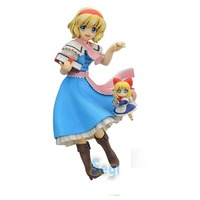 Japanese original anime figure TouHou Project Alice Margatroid action figure collectible model toys for boys
