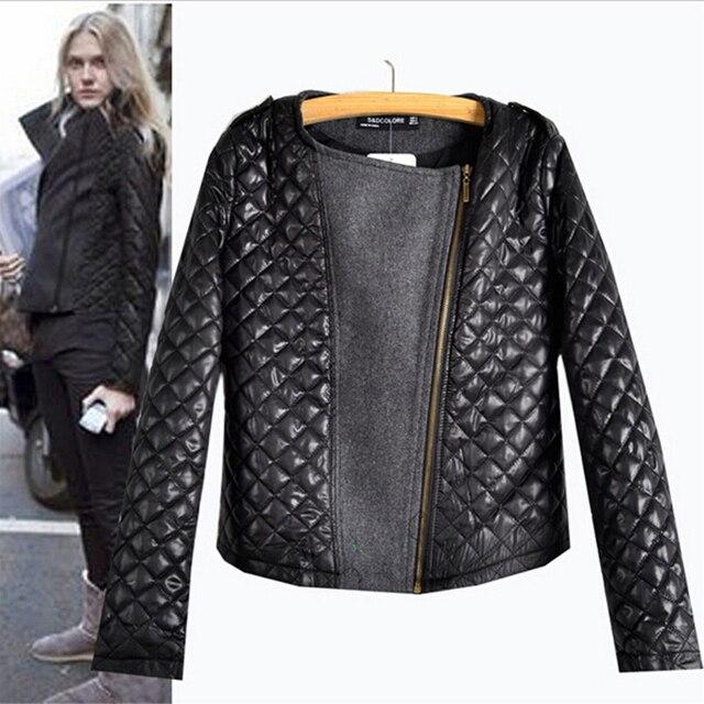 2016 новое поступление осень зима европейский стиль мода лоскутное шитье шерстяное пальто дамы с длинным рукавом молнии горячая распродажа
