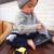 Los Niños de los PP Largas Pantalones de Dibujos Animados Legging Algodón Bordado Animales Muchachas de Los Bebés Visten de Color Azul Rosa Amarillo Pantalón