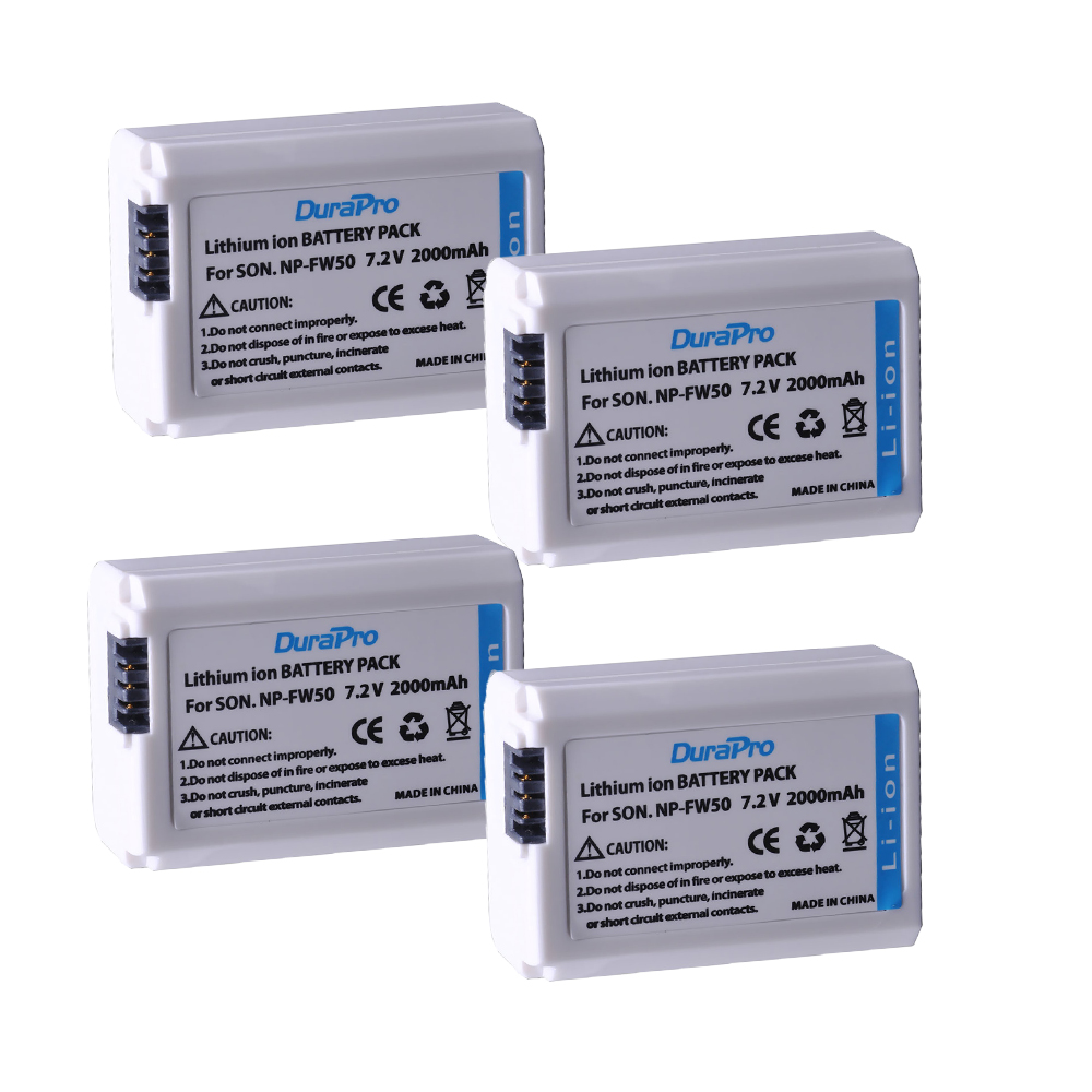 4pc 2000mAH NP-FW50 NP FW50 Battery for Sony Alpha A33 A35 A37 A55 SLT-A33 SLT-A35 SLT-A37 SLT-A37K SLT-A37M SLT-A55 SLT-A55V4pc 2000mAH NP-FW50 NP FW50 Battery for Sony Alpha A33 A35 A37 A55 SLT-A33 SLT-A35 SLT-A37 SLT-A37K SLT-A37M SLT-A55 SLT-A55V